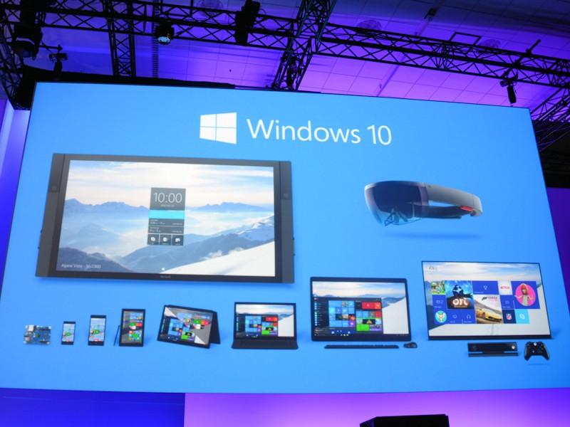 Windowsはユニバーサルアプリであらゆるデバイスで同じ環境が得られる