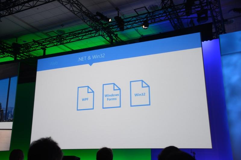 Webアプリも、.NETやWin32によるアプリも、Androidアプリも吸収する.appx。それらがユニバーサルWindowsプラットフォームで稼働する