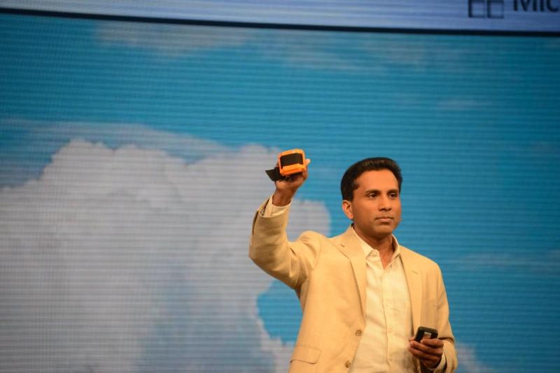 IoTデバイスの一例として富士通九州システムズの製品が紹介された