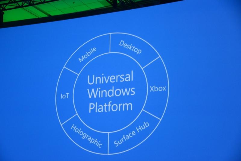 あらゆるプラットフォームを包括するユニバーサルWindowsプラットフォーム