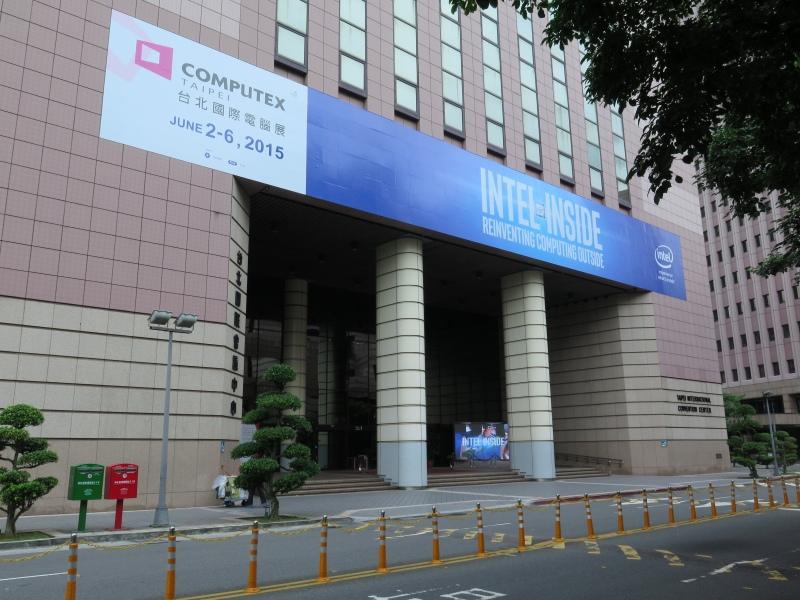 こちらは向かいにあるTaipei International Convention Center(TICC)で、MediaTekなどの半導体メーカーが入っているほか、基調講演などもここで行なわれる