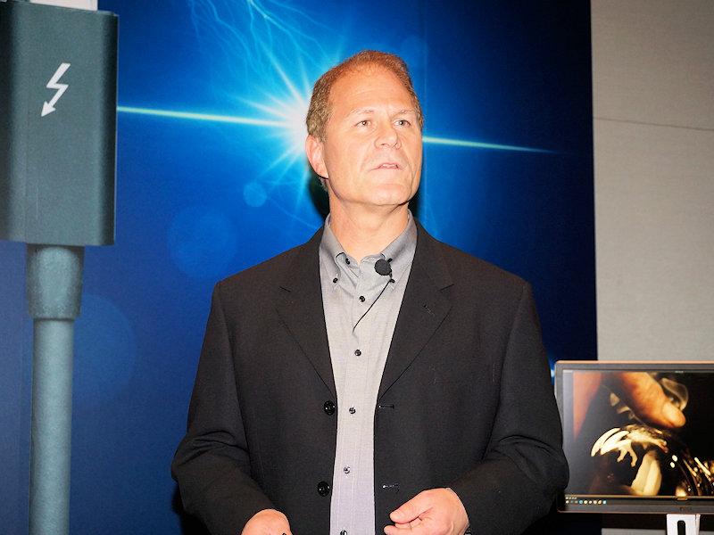 Intel Thunderboltマーケティングマネージャのジェーソン・ジラー氏