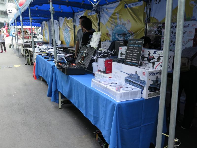 台湾ではドローンが屋台で売られている