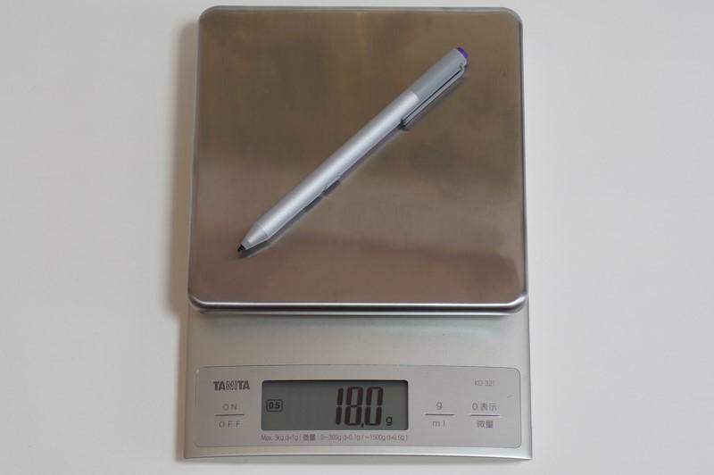サイズは直径9.5×長さ135mm、公称重量18g。実測重量もピッタリ18gだった
