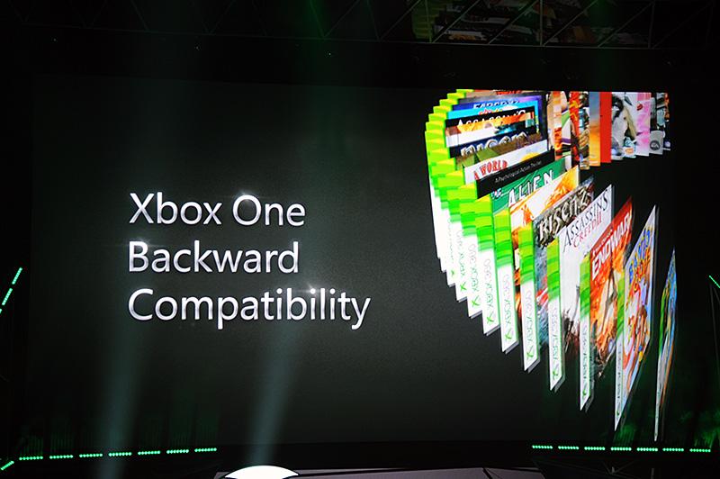 会場が大歓声に包まれたXbox 360への後方互換性の追加。「もう(お気に入りのゲームの対応を)待たなくても良い」とアナウンスされた
