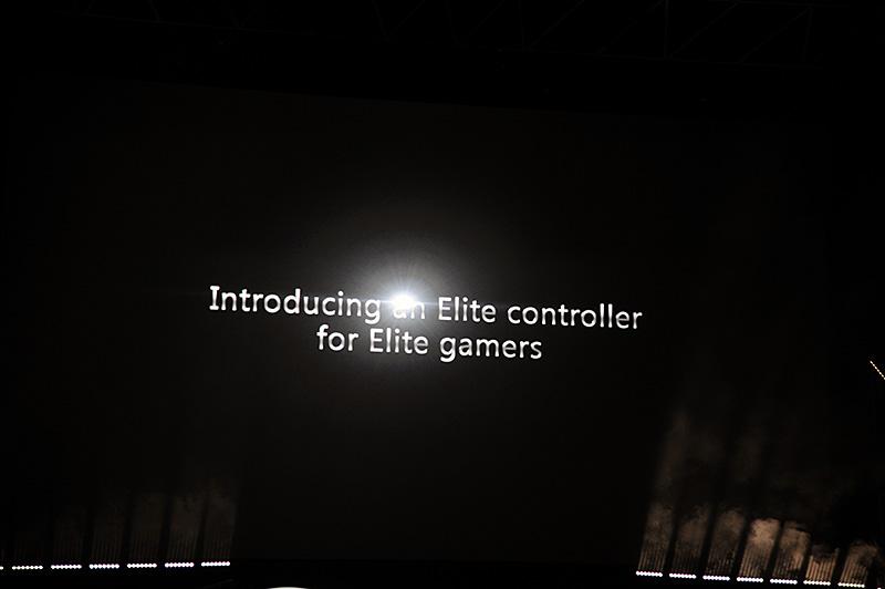 エリートゲーマー向けのエリートコントローラを発表。Xbox OneとWindows 10に対応