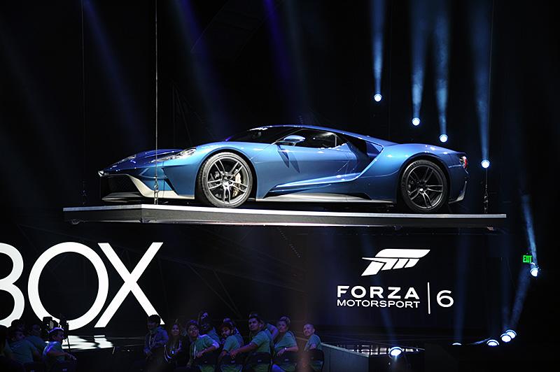 「FORZA Motorsport 6」では、FORD GTがメインに。9月15日に発売