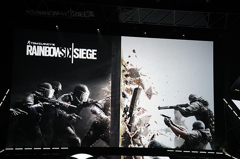 Xbox One向けに投入される新作のトム・クランシー「RAINBOW SIX   SIEGE」は2015年10月13日に発売予定