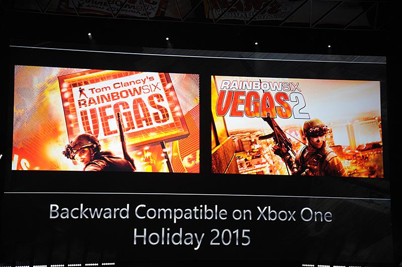 新作のプロモーションを兼ねて、Xbox 360向けのRAINBOW SIXから、VEGAS、VEGAS2がホリデーシーズンに提供される