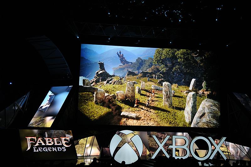 オンラインRPGの「Fable Legend」。Xbox OneとWindows 10搭載のPCとで協力プレイが可能