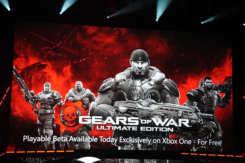 GEARS of WARのXbox One向けUltimate Editionは、今日から無料のβプレイが可能