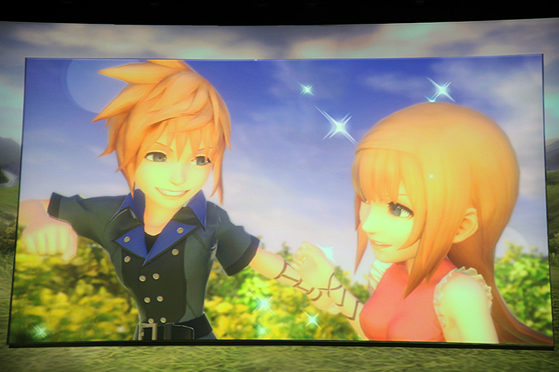 Final Fantasyシリーズの完全新作「World of Final Fantasy」。2014年に、PS4およびPS Vitaで登場する