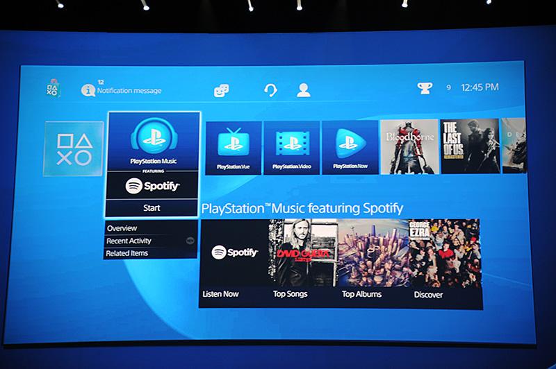 Spotifyと提携して、音楽聴き放題サービスを展開するPlayStation Music。国内展開の時期は未定