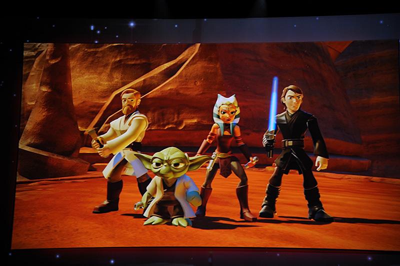 Disney Infinity 3.0に登場するSTAR WARS。相変わらず人気が高く、デモンストレーションでもクローズアップされたBOBA FETT。