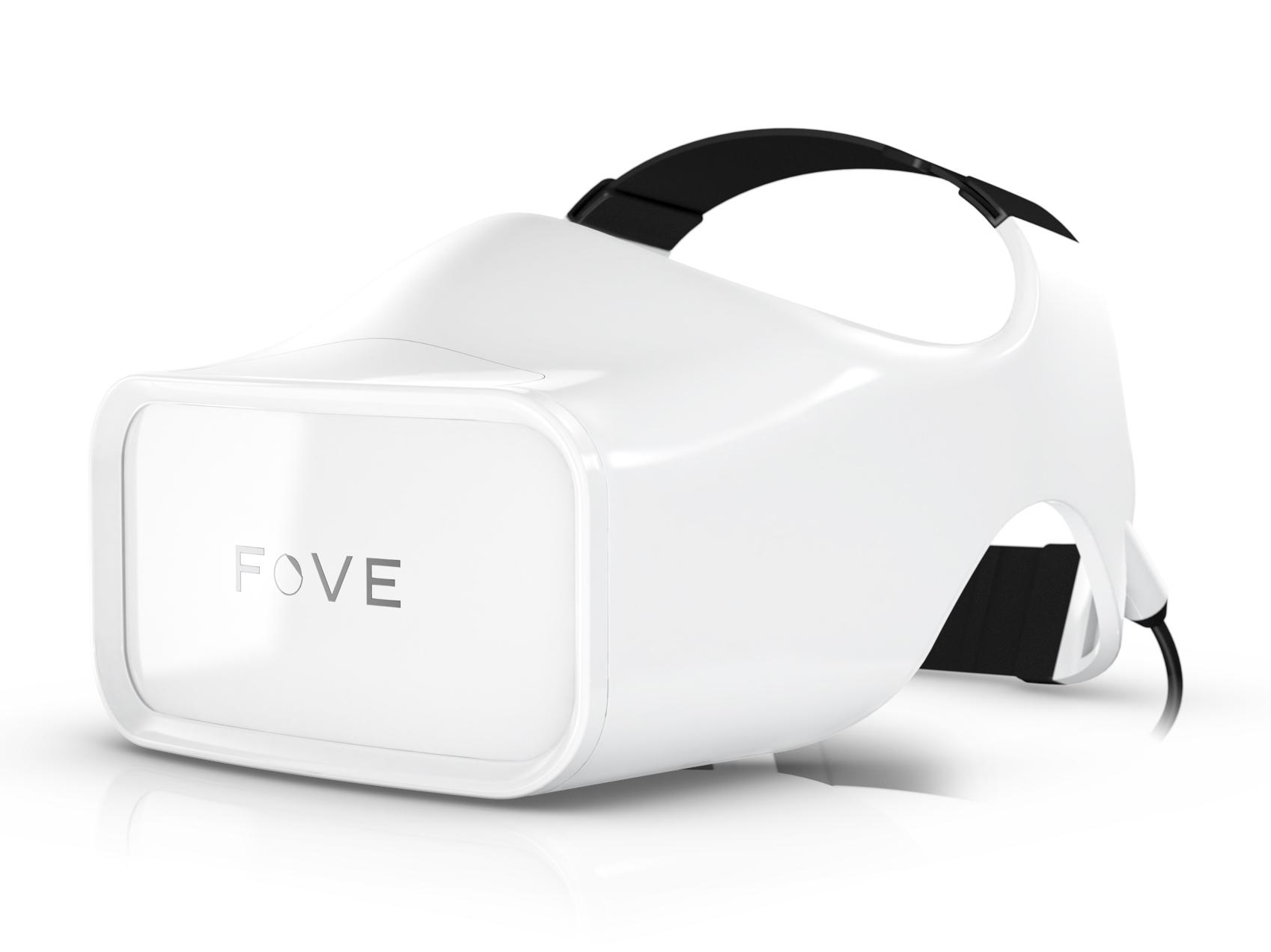 視線追跡型のVRヘッドセット「FOVE」