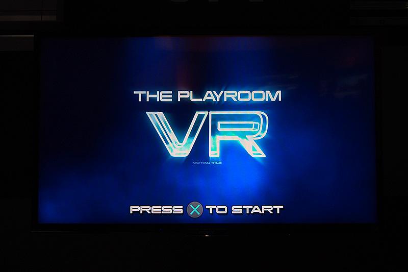 PlayStation 4向けに提供されている現実のプレイ環境をシェアするPlay Room。VR空間のPlay Roomも開発中