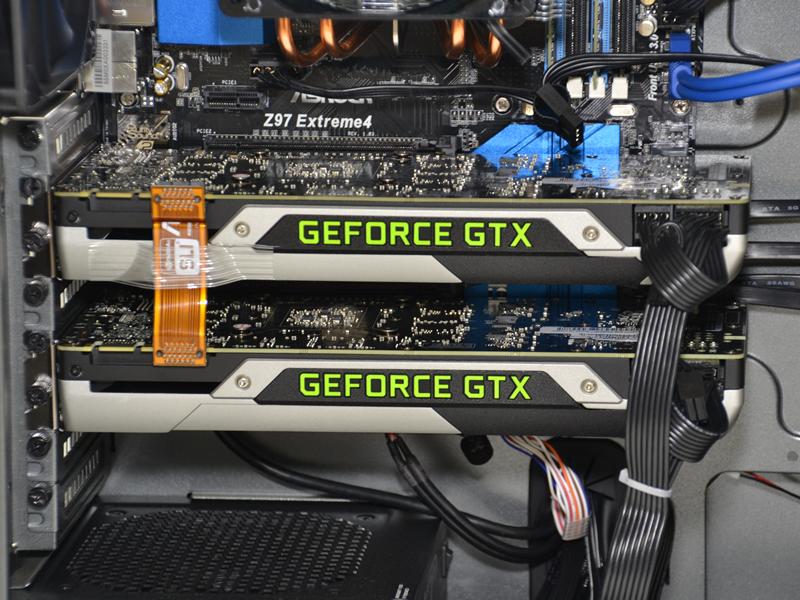 最新GPU「GeForce GTX 980 Ti」のSLI構成