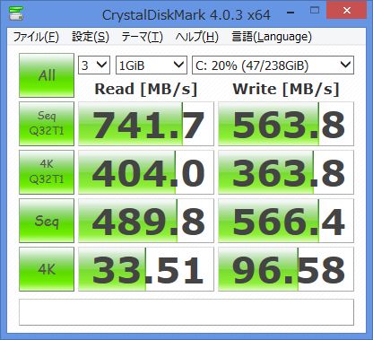 SSD(PLAXTOR PX-G256M6e)