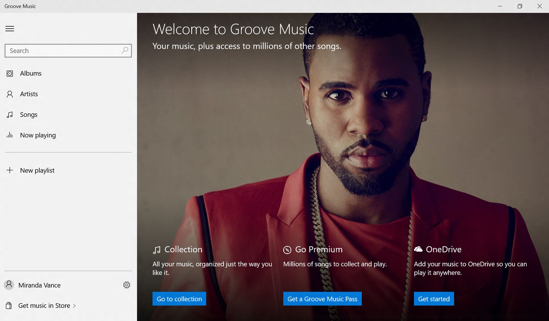 「Groove」アプリ