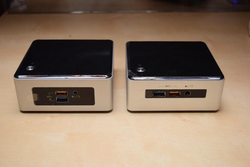 左が下位機種、右が上位機種