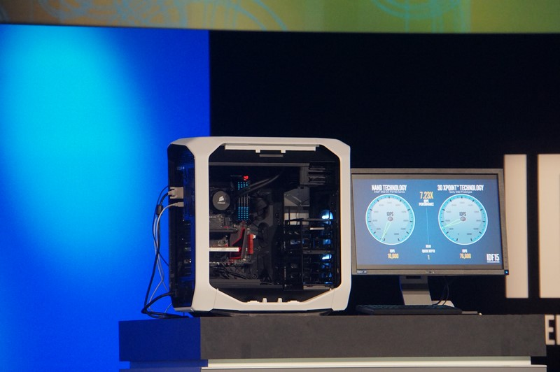 3D XPointのデモで利用されたシステム