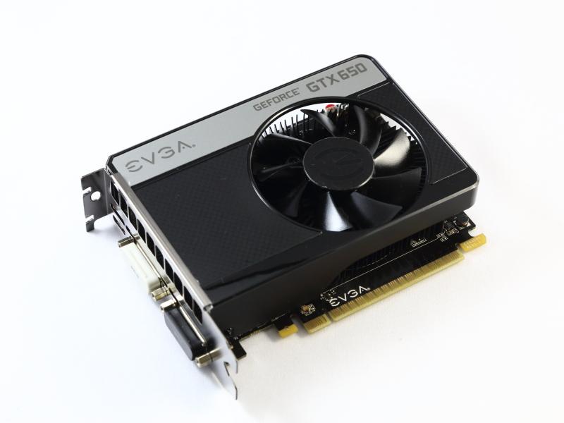 GeForce GTX 650搭載のEVGA製ビデオカード