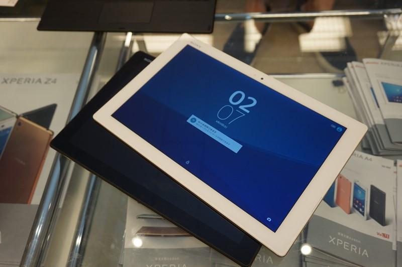 Xperia Z4 Tablet、本体カラーは白と黒の2種類。ただしキーボードは黒のみとなる