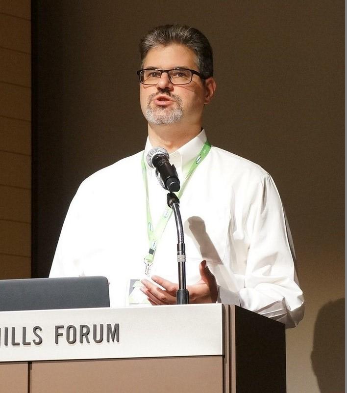 OpenPOWERに関して講演したNVIDIA シニアIBMデベロッパーリレーションシップマネジャーのJohn Ashley氏