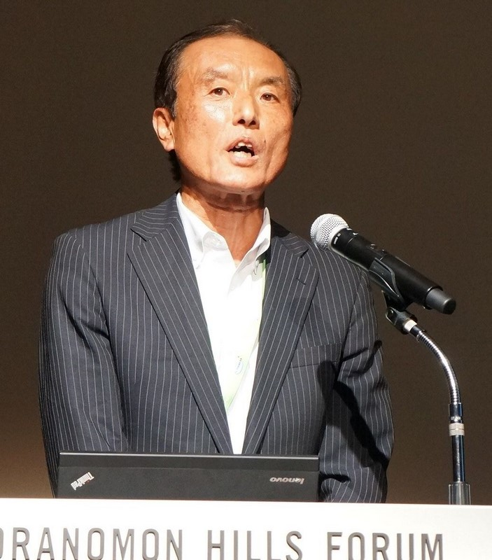 CORALプロジェクトとデータセントリックコンピューティングに関して講演した日本IBMハードウェアシステムズ事業本部技術理事の清水茂則氏