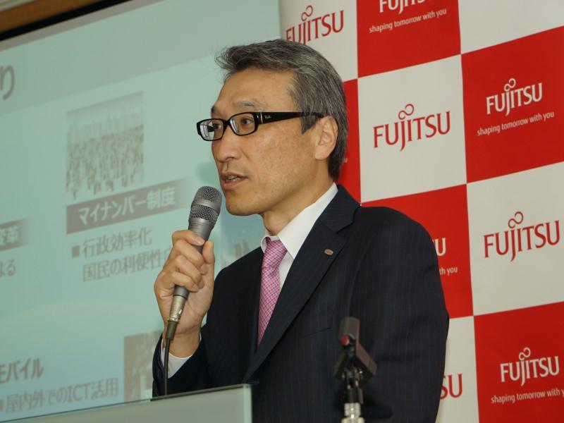 富士通株式会社 パーソナルビジネス本部 本部長の竹田弘康氏