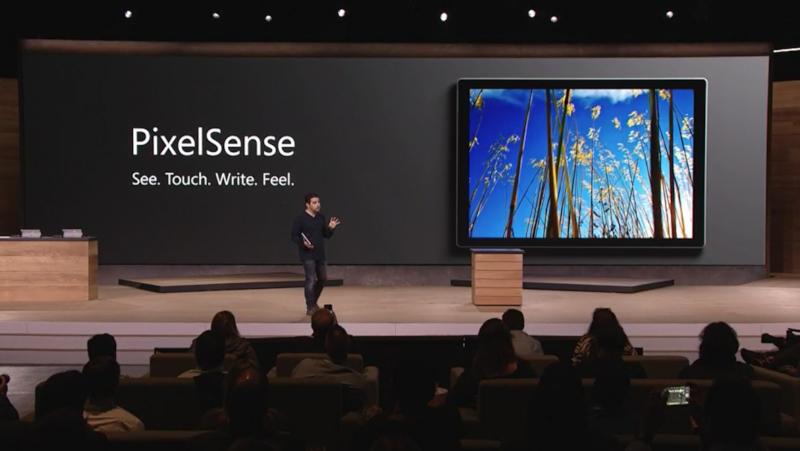 PixelSense技術を搭載し、見栄えやタッチ/ペンの操作感を向上
