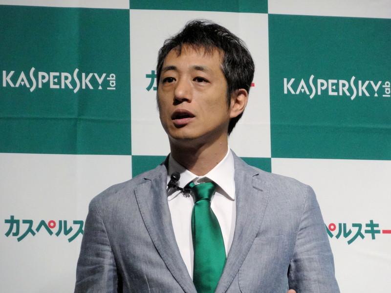 株式会社カスペルスキー 代表取締役社長 川合林太郎氏
