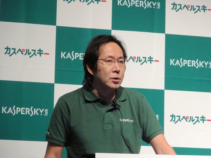 同社製品本部プロダクトマーケティング部部長 田村嘉則氏