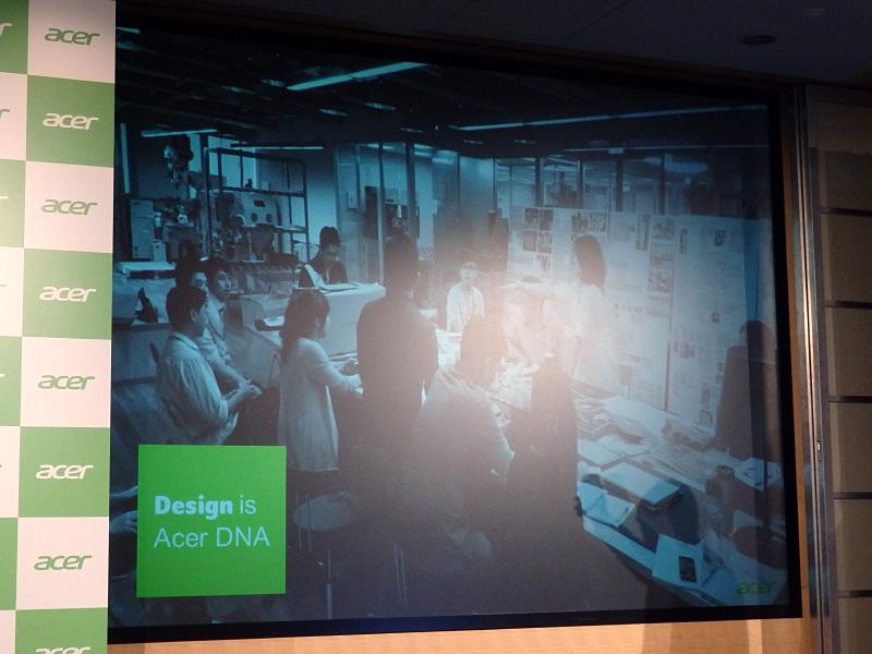 Acerのデザインチーム