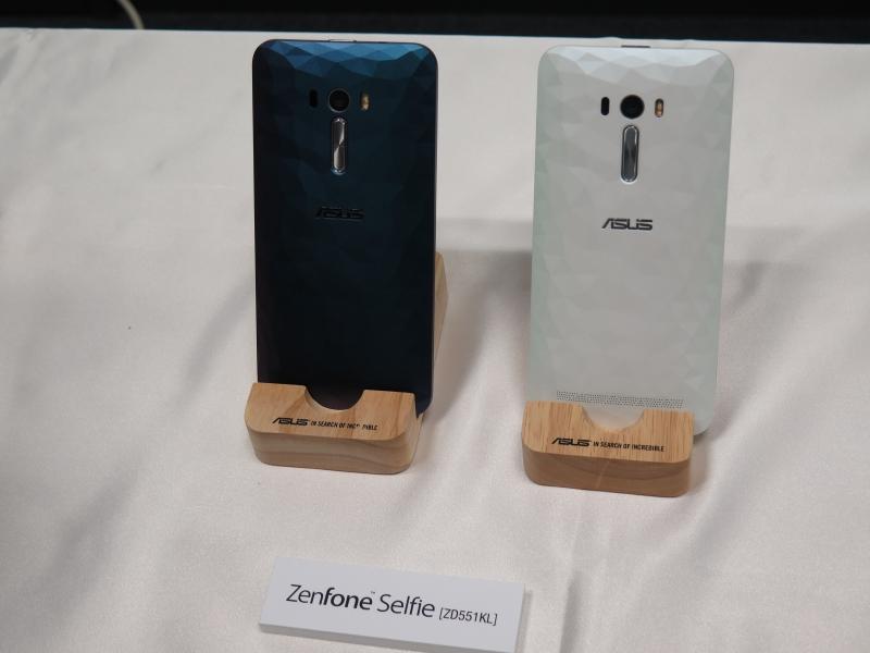 ZenFone Selfie イリュージョンシリーズの実機