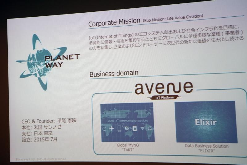 Planetwayの会社概要