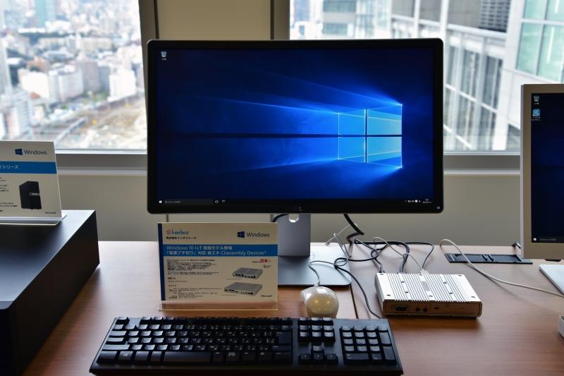 株式会社インタフェースの「Classembly Devices」官製ハガキサイズの産業用コントローラ。Windows 10 IoT Enterpriseを搭載