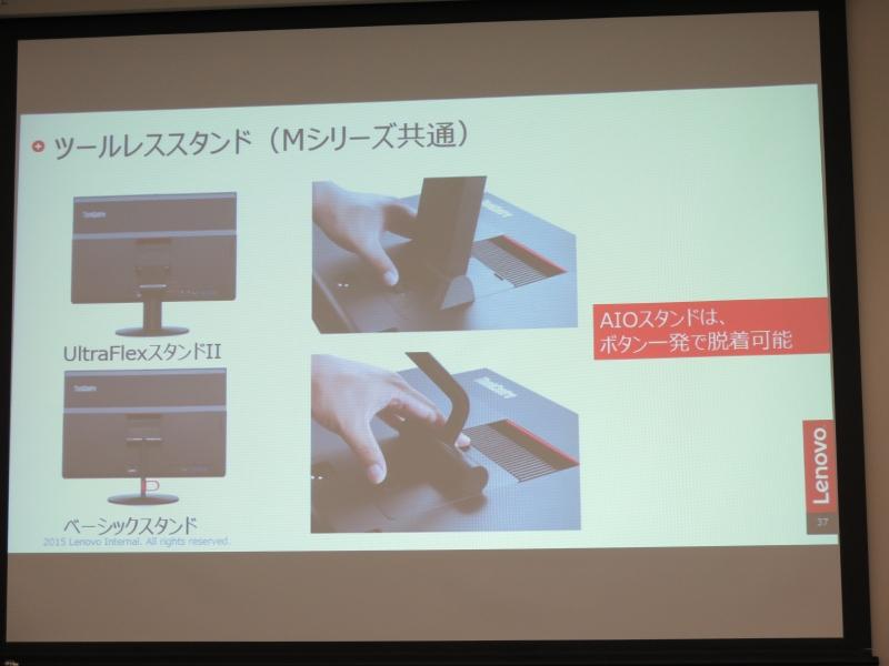 物理ボタン、キャリーハンドル、カメラロックスイッチの搭載