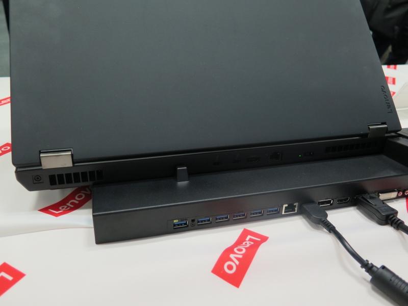 ThinkPad Pシリーズ対応のドッキングステーション