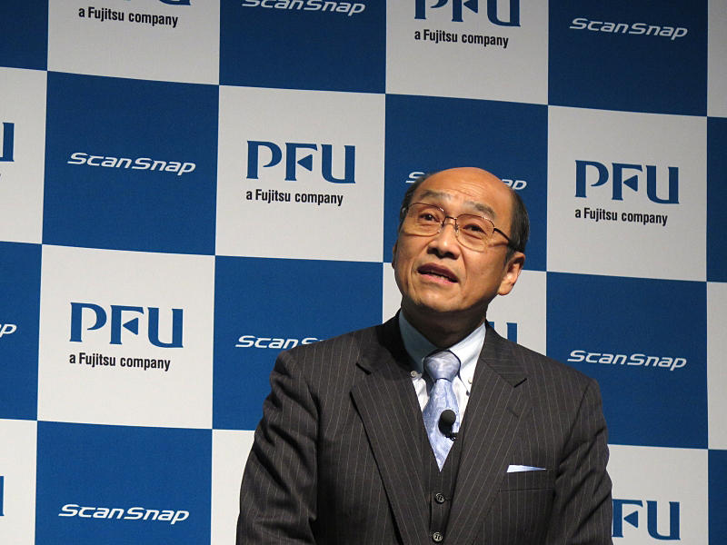 PFU 代表取締役社長 長谷川清氏