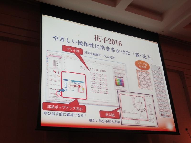 花子2016の新機能