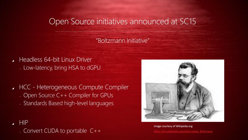 HPC向けのコンパイラやLinuxドライバもオープンソースで公開していく