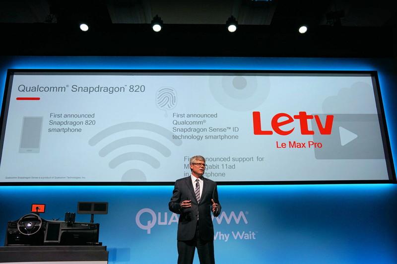 中国のLeTV(ラティービー)がSnapdragon 820を採用した最初のメーカーになった