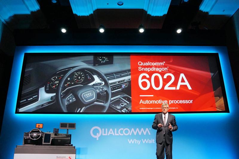 Snapdragon 602Aは自動車向けのSoCで昨年発表された