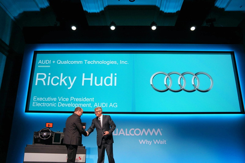 Snapdragon 602Aを一番最初に採用したメーカーとしてAudiを発表