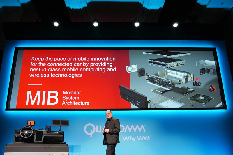 Audi独自のモジュールであるMIBにSnapdragon 602Aを採用。2017年に出荷する自動車に採用される予定