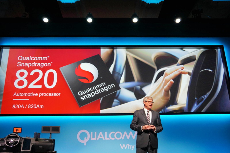 QualcommはSnapdragon 820の自動車グレードとしてSnapdragon 820Aと820Amを発表、Amがモデム内蔵版