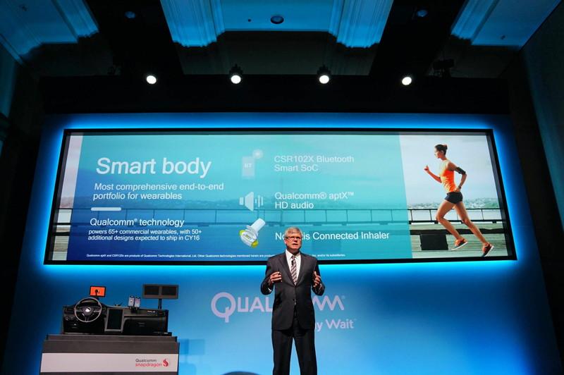 Qualcommが買収したCSRが開発してきた「aptX」のハイレゾ版として「aptX HD」が発表される。aptXはBluetoothの圧縮オーディオのコーデックで、Bluetooth標準のSBCに比べて高音質になっている。aptX HDはそのハイレゾ版で、入出力が24bitに対応する