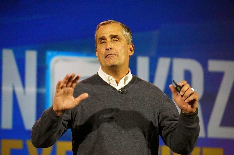 Intel CEO ブライアン・クルザニッチ氏
