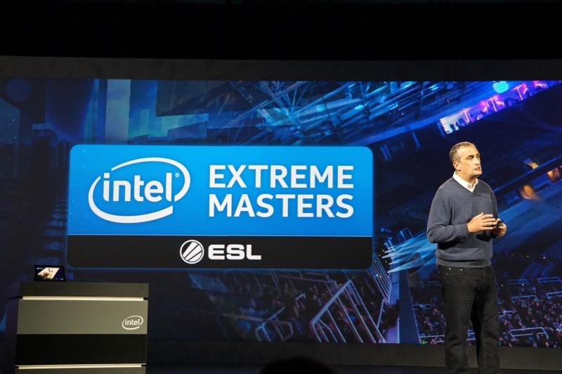 Intelはeスポーツに力を入れており、世界的な大会であるIntel Extreme Mastersを運営している